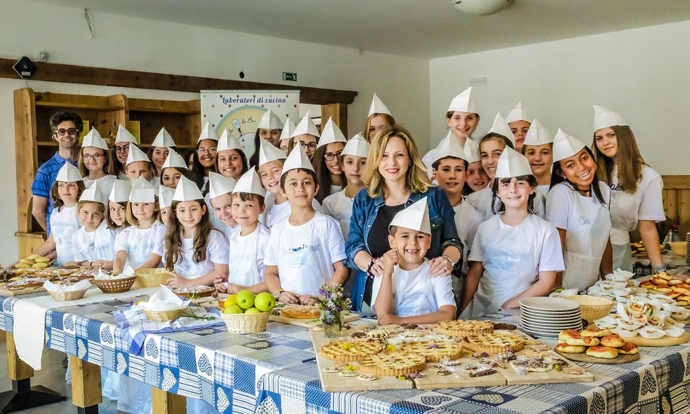 COOKING SUMMER CAMP a Andalo