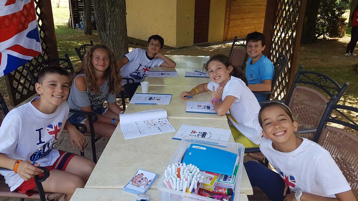 Club Inglese summer camp - Viterbo -